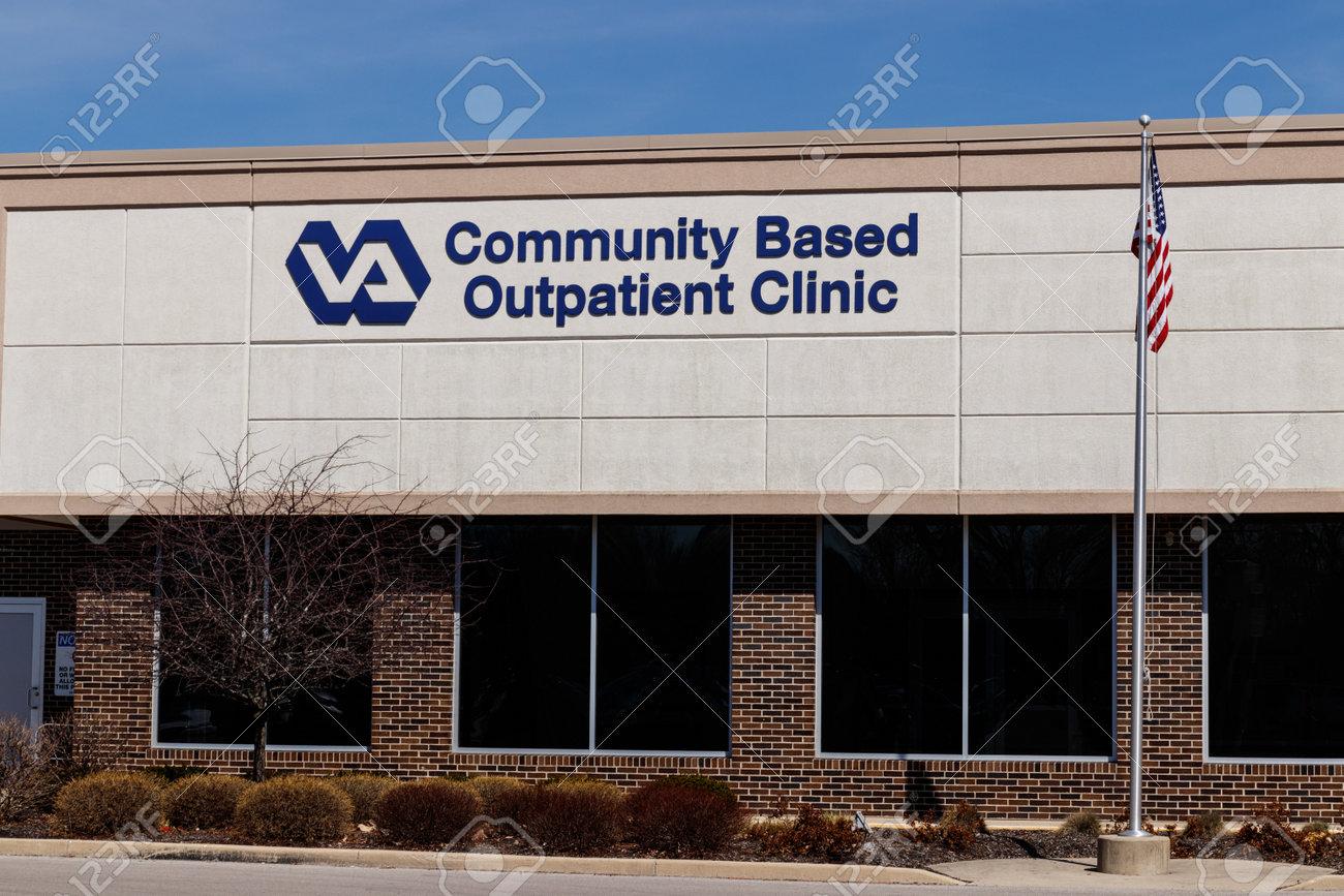 Muncie - Circa March 2019: Veterans Affairs Outpatient Clinic