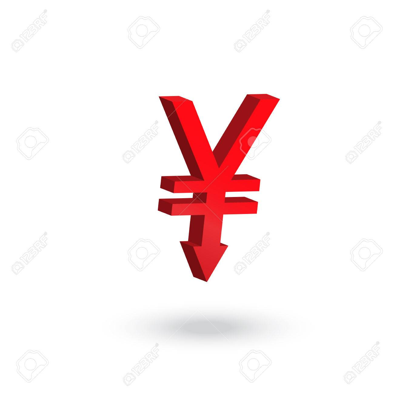 Yen currency symbol with arrow down to the floor decreasing yen currency symbol with arrow down to the floor decreasing concept stock vector 40608313 biocorpaavc