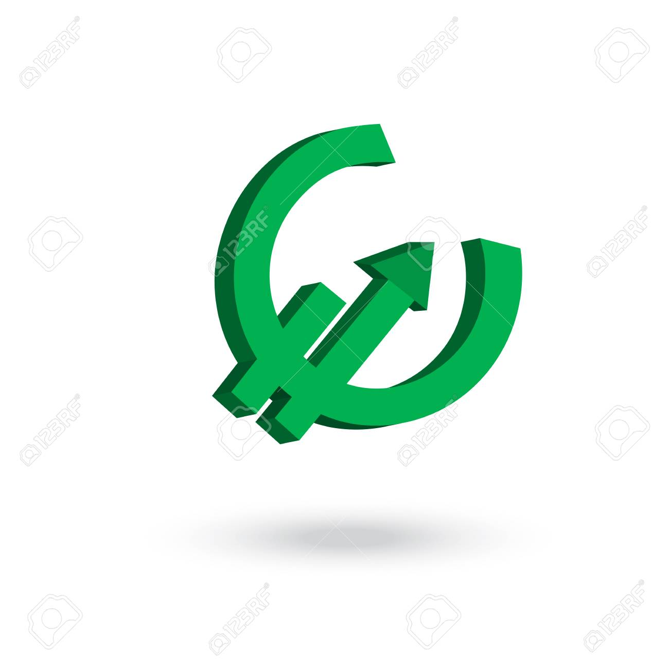 Euro currency symbol with arrow up to the air increasing concept euro currency symbol with arrow up to the air increasing concept stock vector 40608501 buycottarizona Choice Image