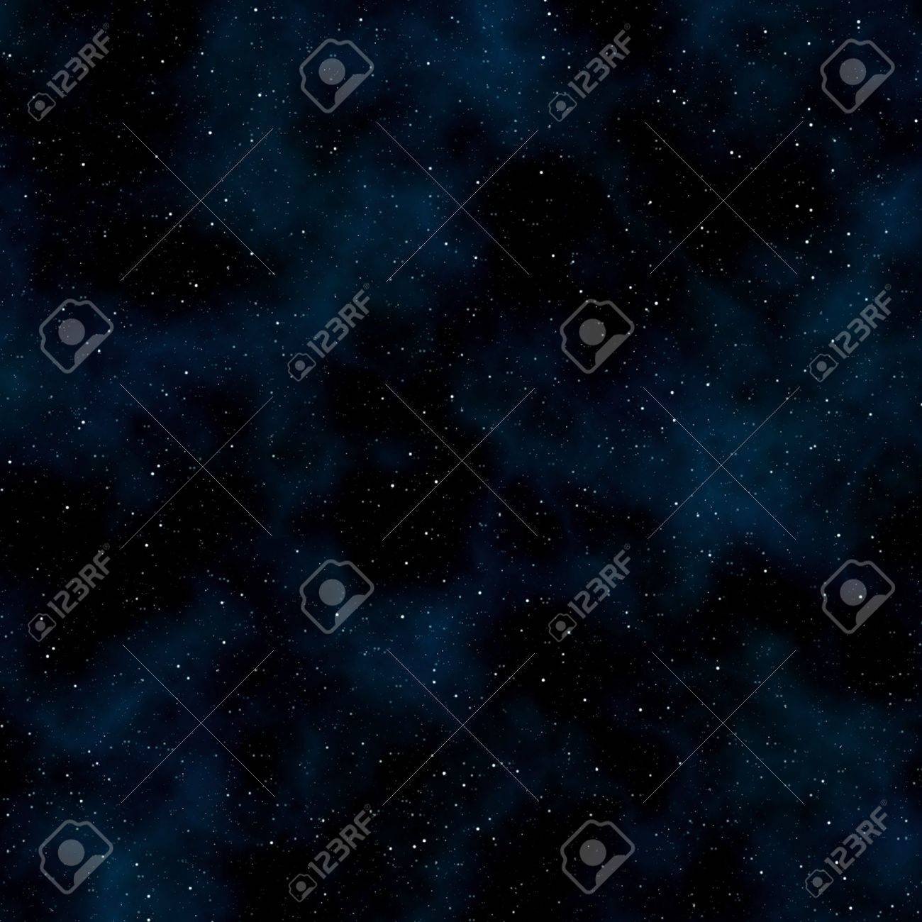 Abstract space background: stars and nebulas. Square Stock Photo - 8172532