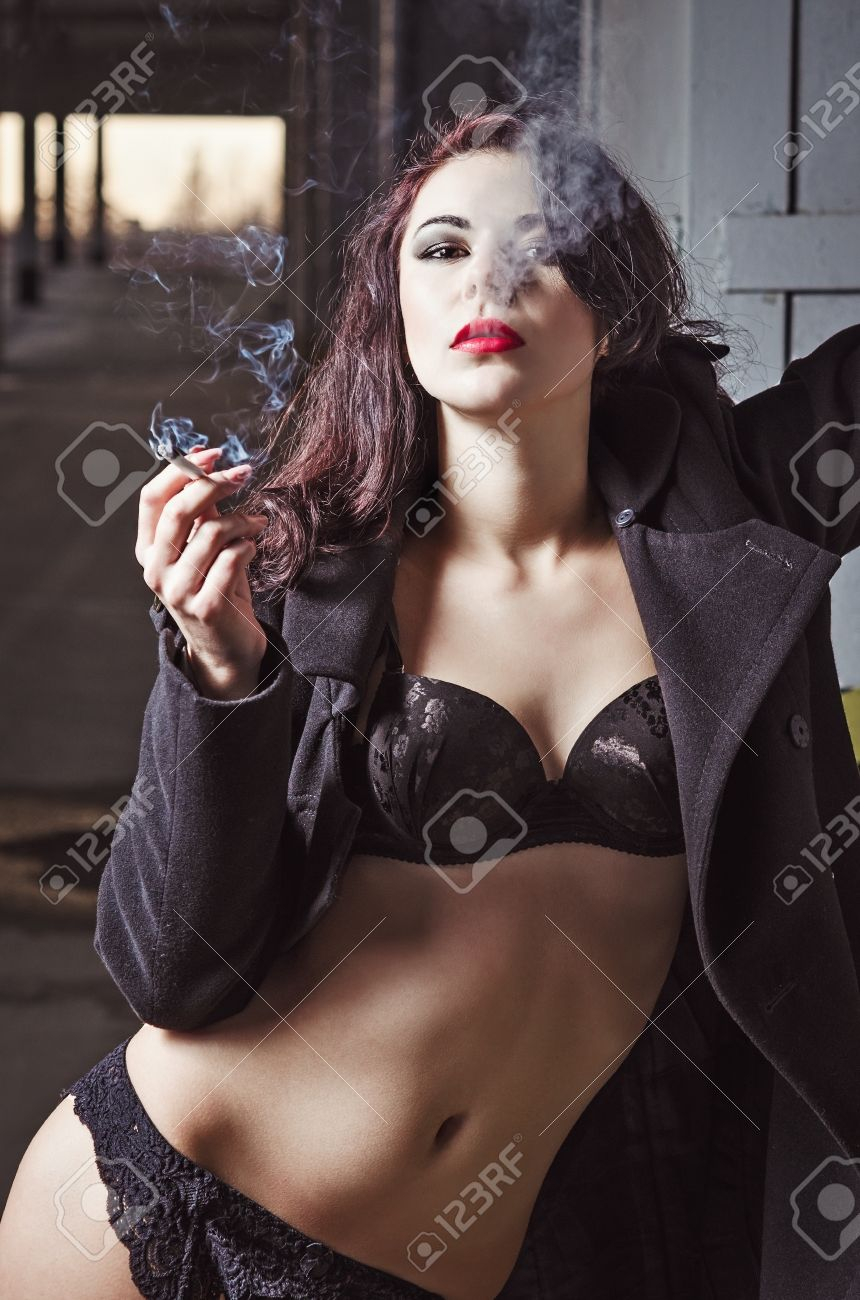Sexy Girl Stroking Huge Cock