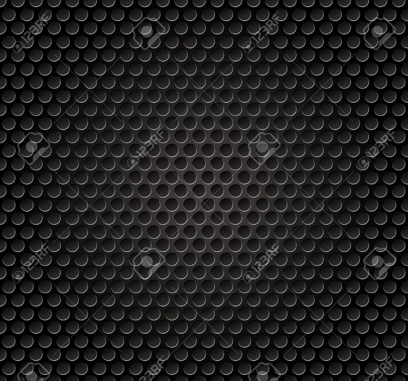 Vector illutration of speaker metal grille. Stock Vector - 9713511