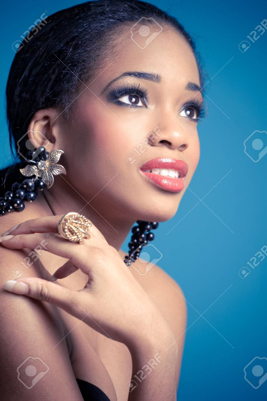 beautiful smiling woman Stock Photo - 7625365
