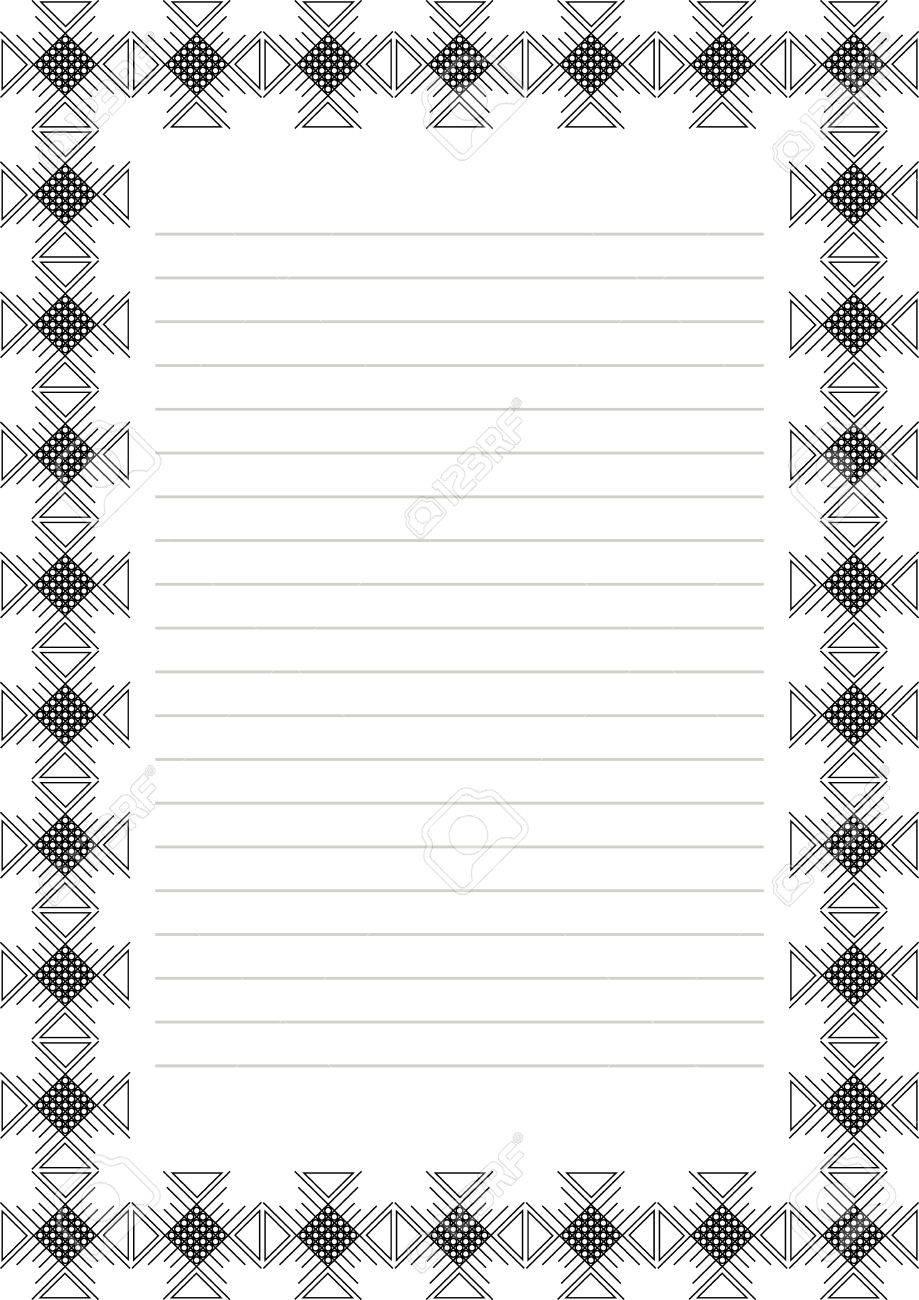 Vecteur Blanc Pour Lettre Carte Ou Charter Blanc Sur Papier Rouge