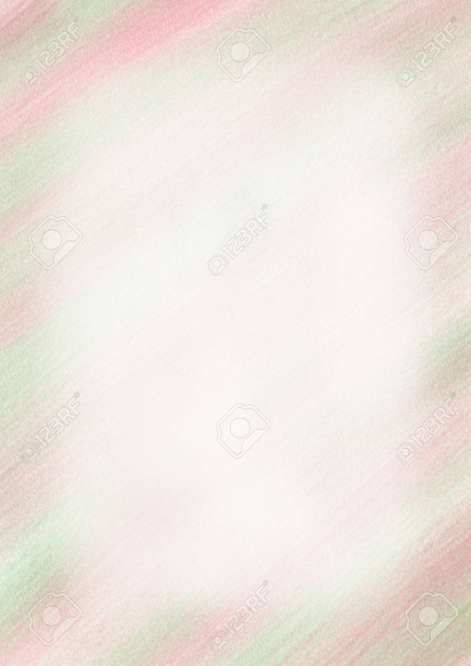 pastel drawn watercolor background in pink green colorstemplate for letter or greeting card
