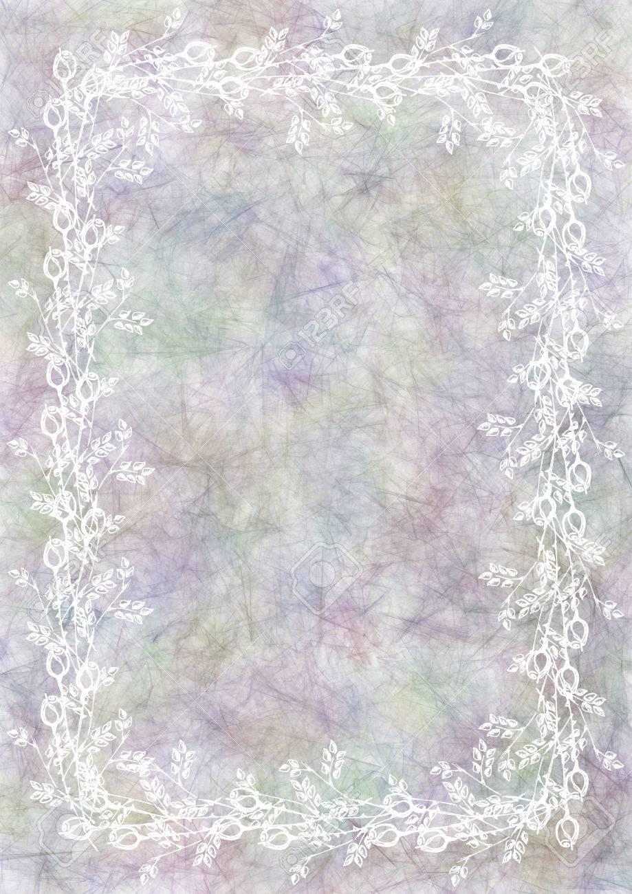 Hand drawn textured floral backgroundumpled paper with rose hand drawn textured floral backgroundumpled paper with rose and leaves template for letter spiritdancerdesigns Gallery