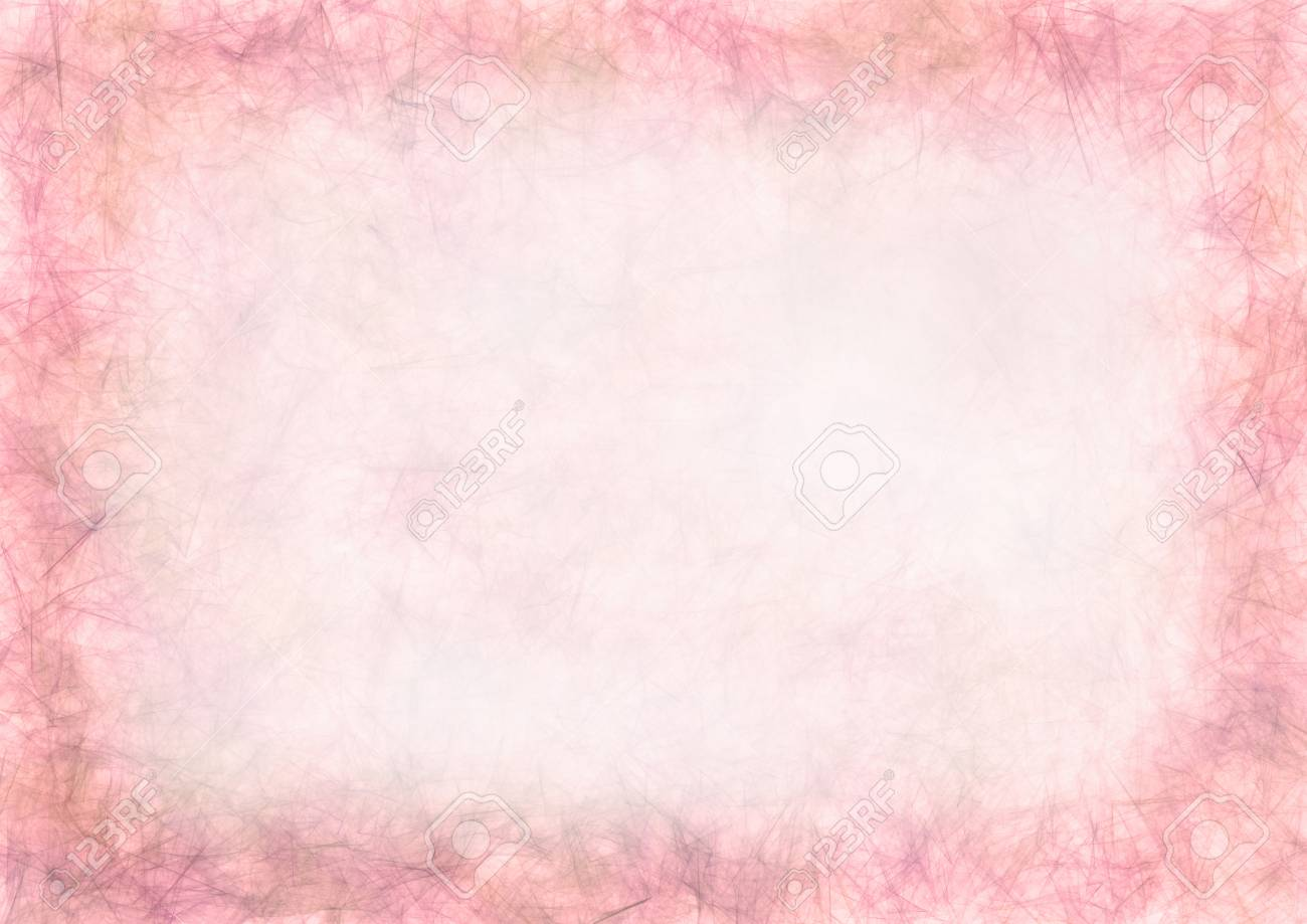 Pastel Drawn Pink Textured Backgroundumpled Paperblank For