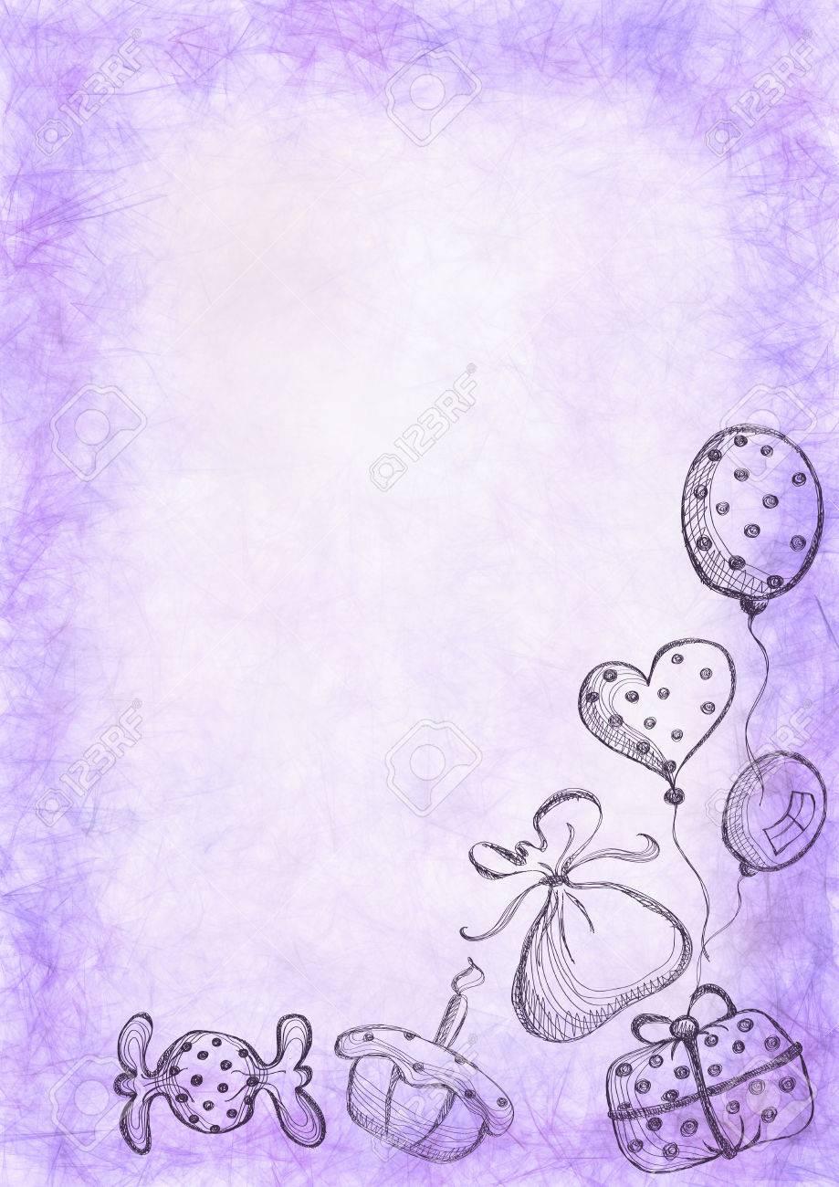 plantilla para carta o tarjeta de felicitacin formato de tamao a4 serie de acuarela pastel fondos y tarjetas espacios en blanco plantillas