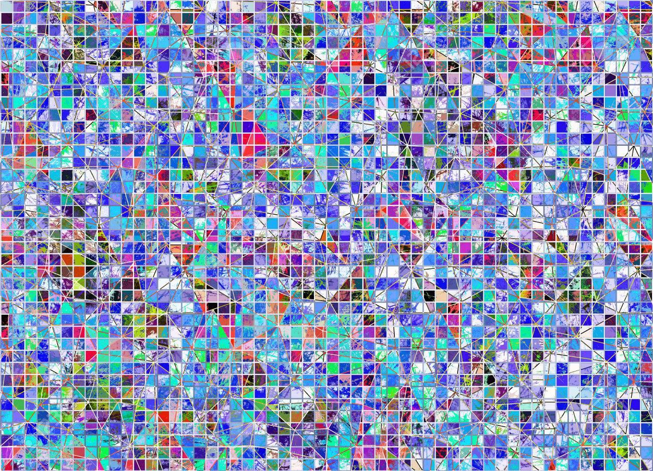 Resume Tire Fond Colore Papier Peint A Carreaux Artistique Dans Des