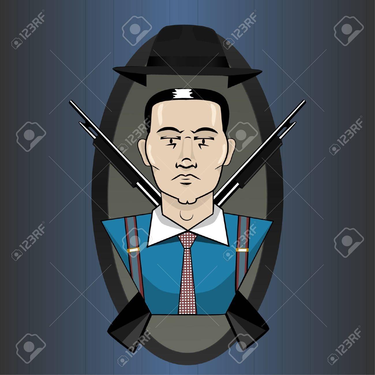 Mafia emblem Stock Vector - 11561836