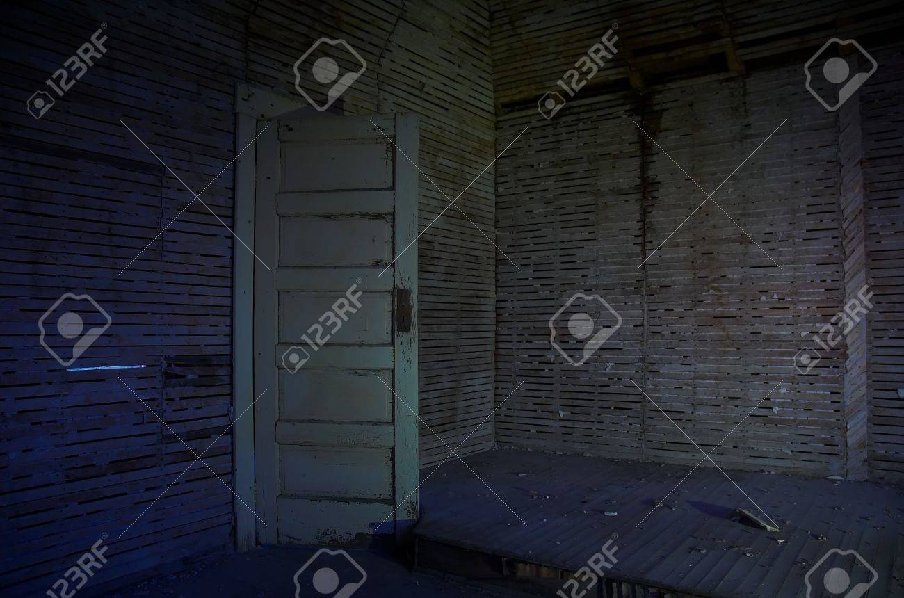 Spooky door opening to the unknown. Stock Photo - 720359 & Spooky Door Opening To The Unknown. Stock Photo Picture And ... pezcame.com
