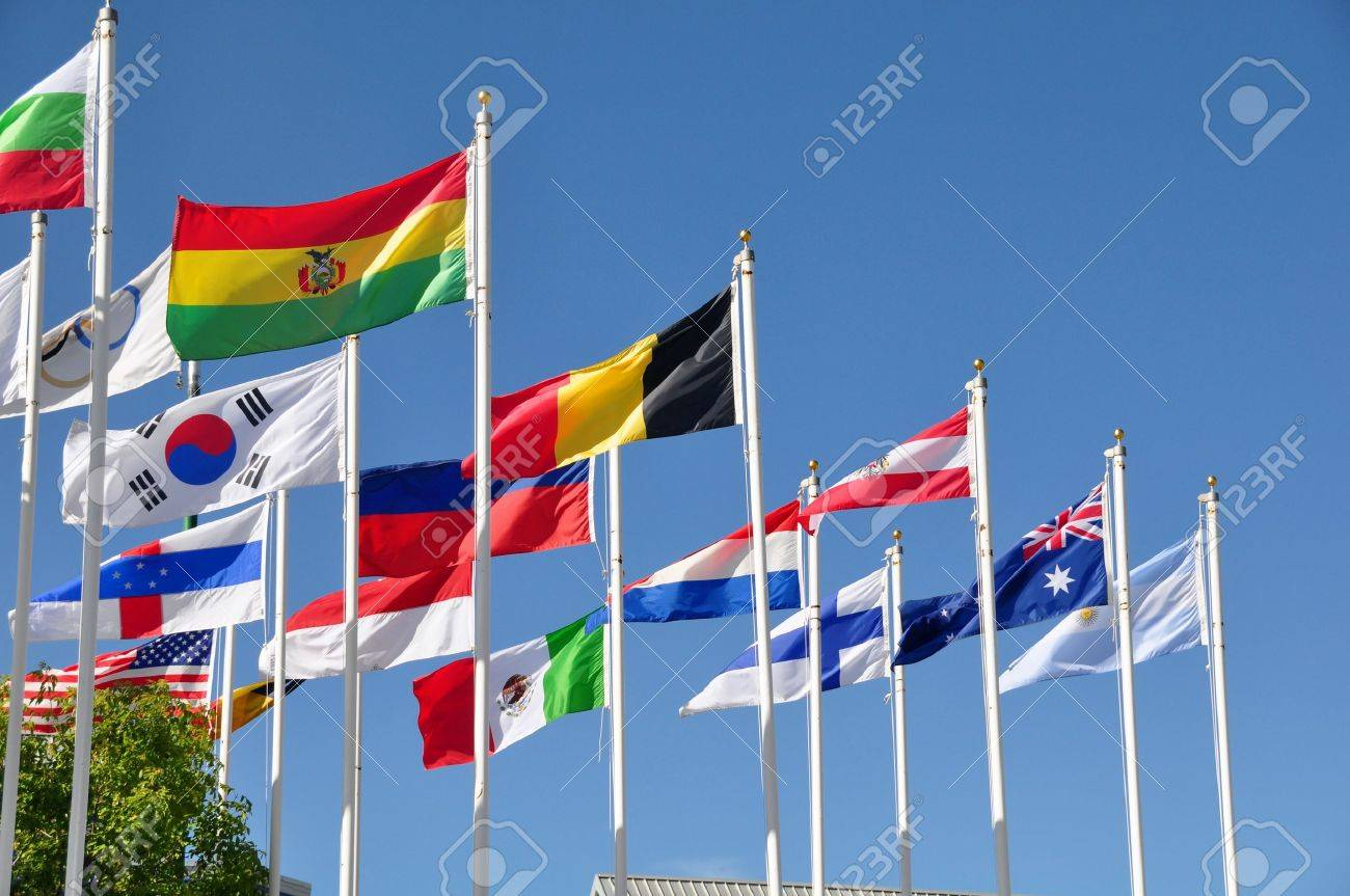 Flags of the world Stock Photo - 10177332