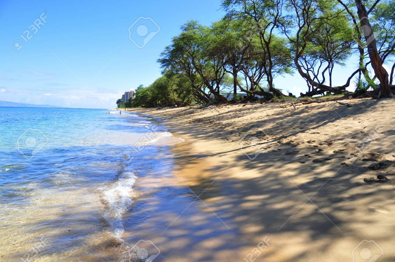 Kaanapali Beach In West Maui Hawaii
