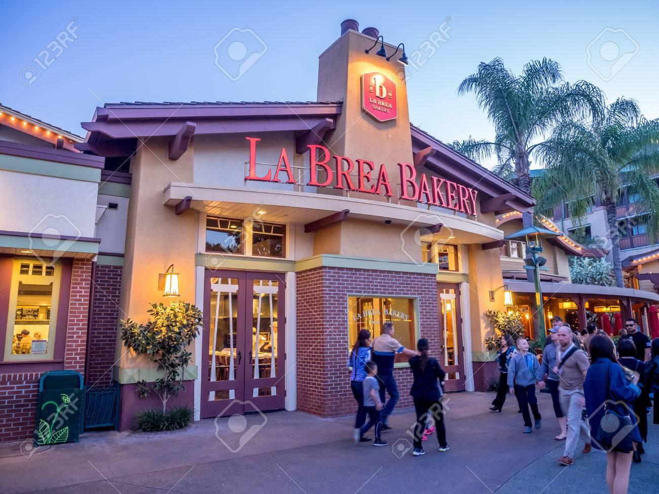 anaheim california february 11 la brea bakery store in downtown disney on february
