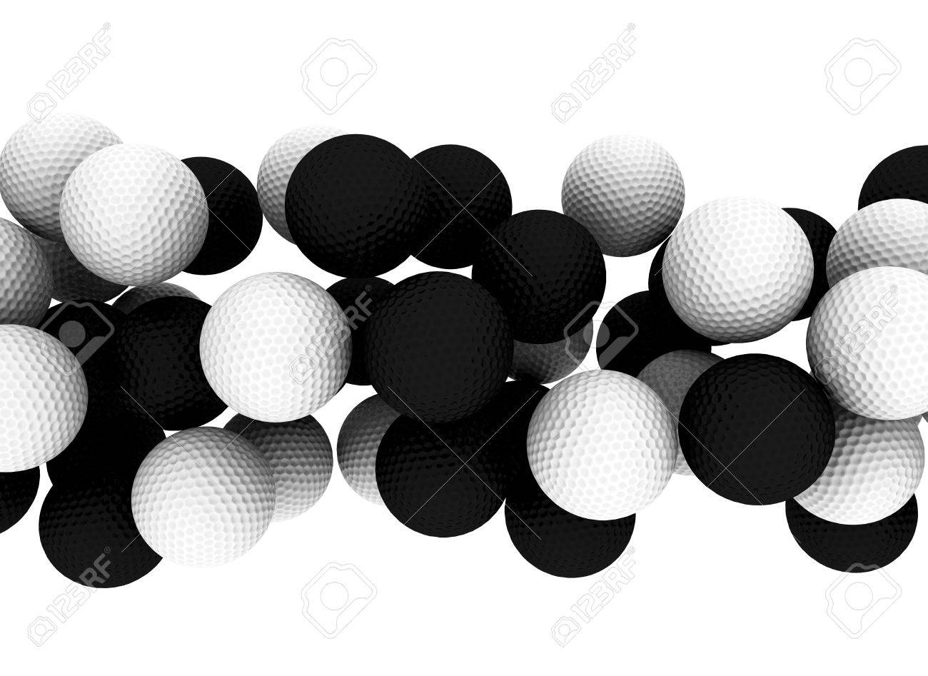 Golf balls Stock Photo - 10782146
