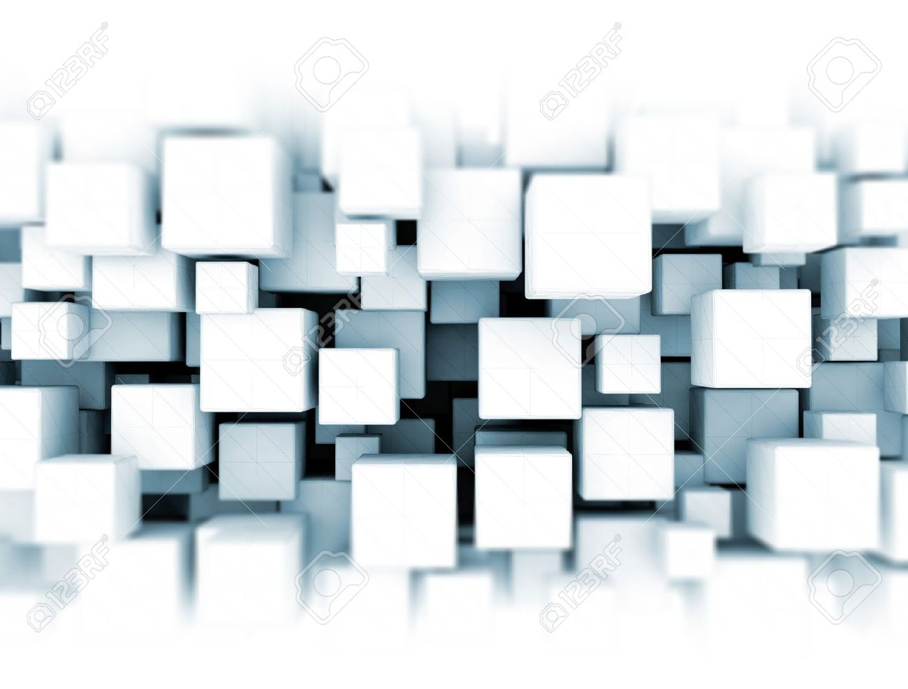3D Cubes Background Stock Photo, Picture And Royalty Free Image ...