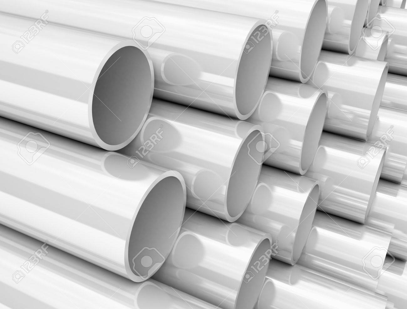 Size Of PVC Pipes Stock Photo, Picture And Royalty Free Image ...