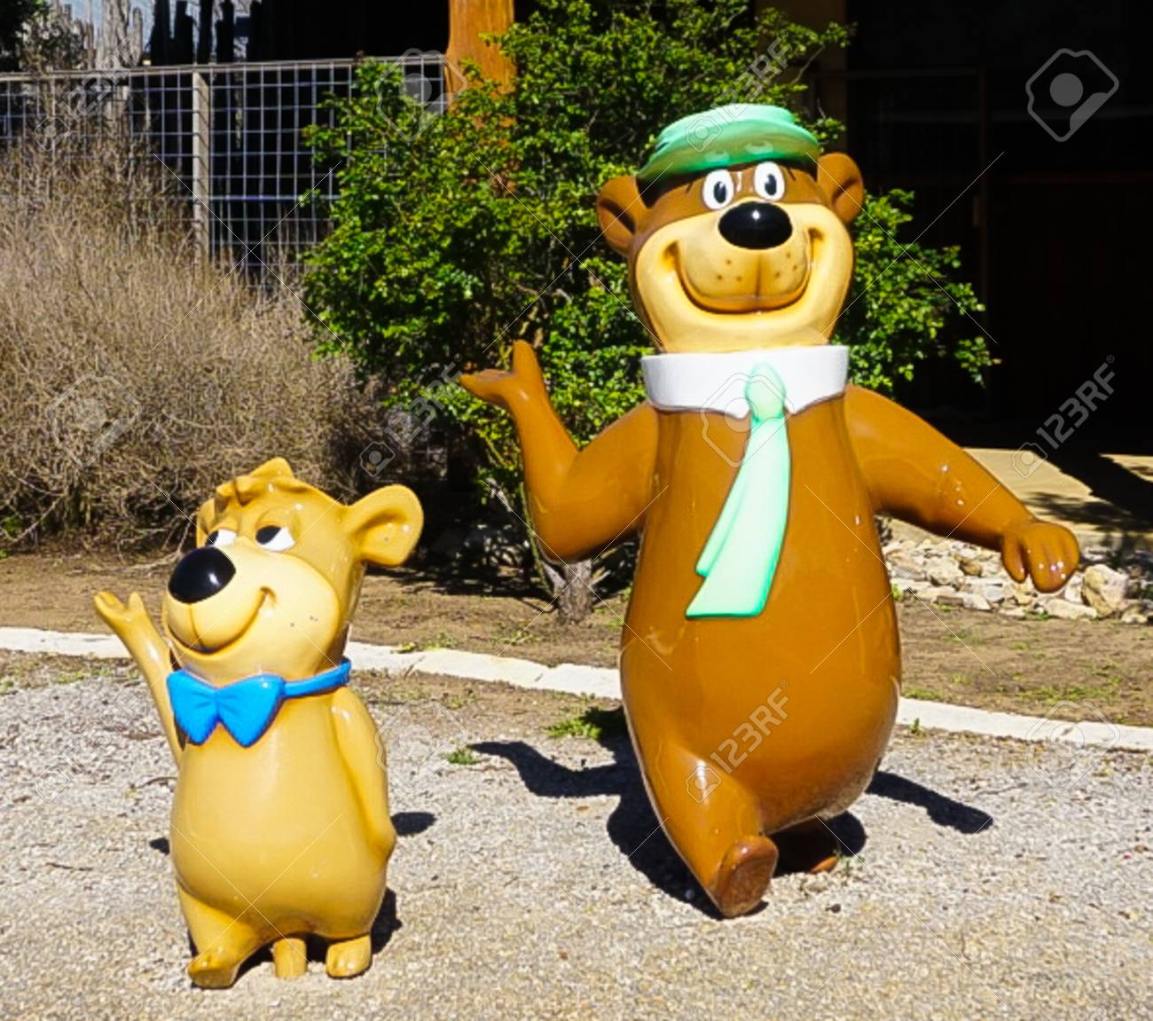Fredericksburg Texas March 7 2018 Yogi The Bear And Booboo Stock Photo Picture And Royalty Free Image Image 117883440