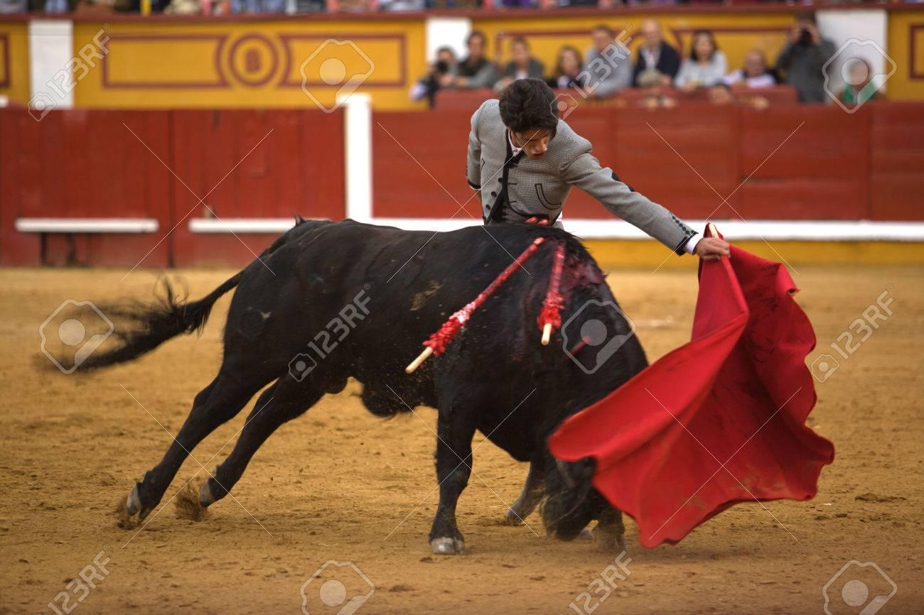 Spanish-style bullfighting is called a corrida de toros (literally ...