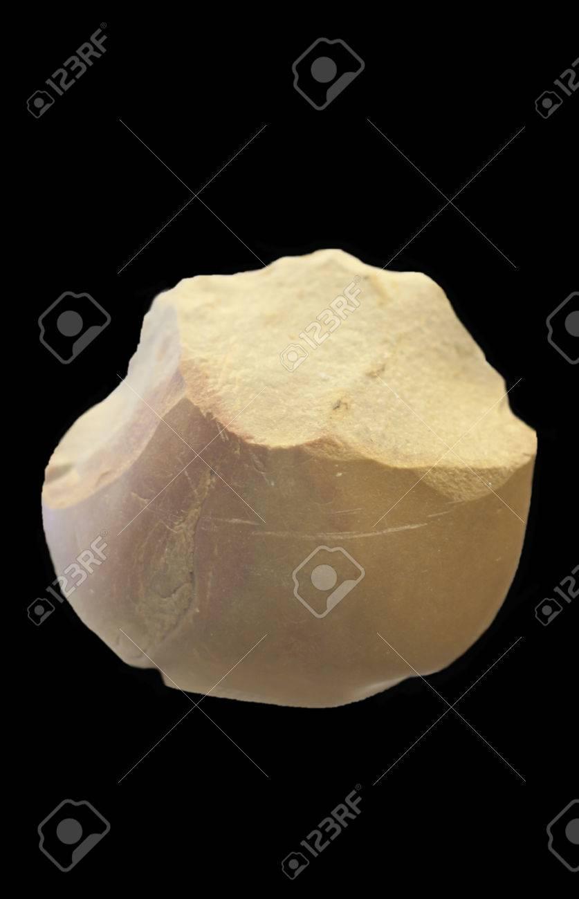 Bifaz Neolitico Herramientas De Piedra A Dos Caras Utilizado Como Propositos Multiples Cuchillo Fabricado Mediante Un Proceso De Reduccion Litica