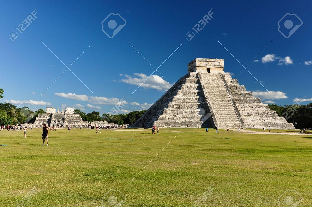 Mayan Ruin - Chichen Itza Mexico - 13558849