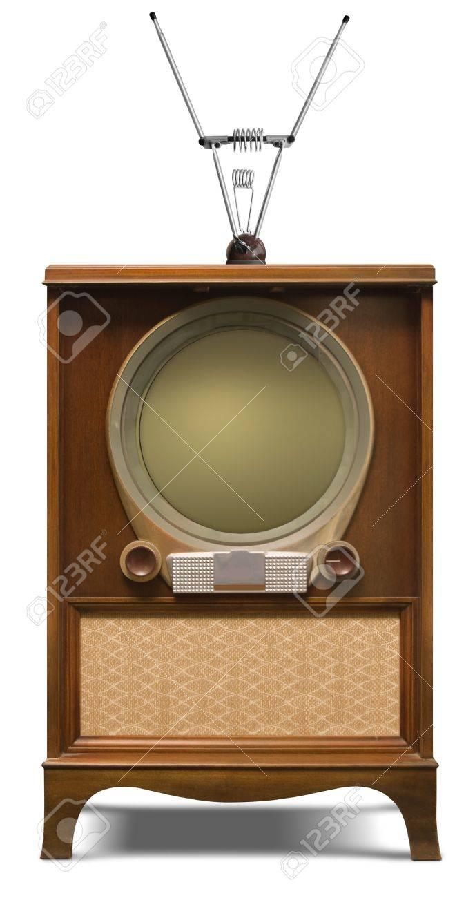 1952 console television set Stock Photo - 9524829