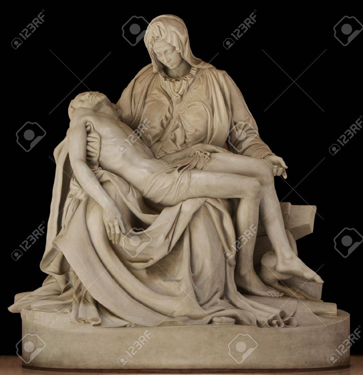 Statue of Mary holding the body of Jesus by Michael Angelo Stock Photo - 15440326