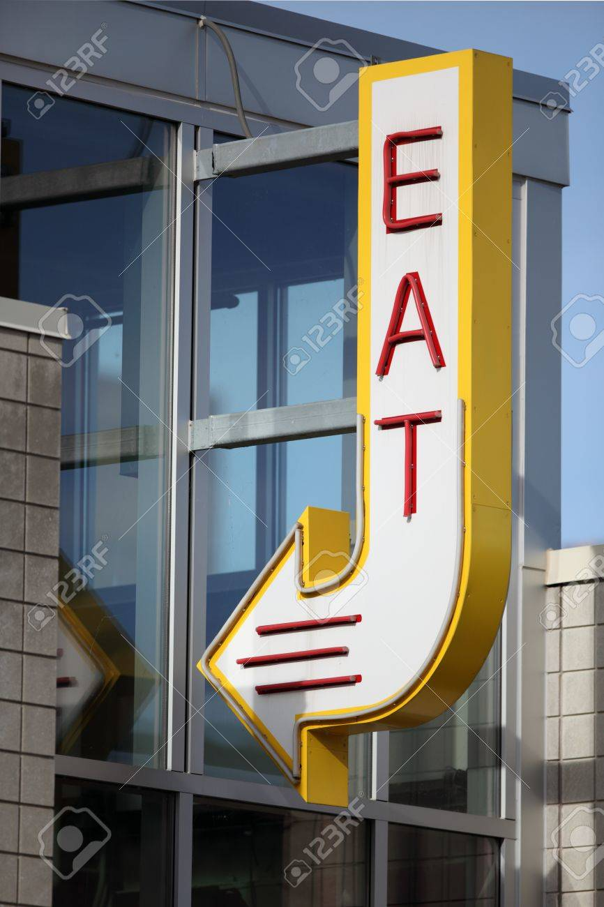 Eat Sign - 16200796