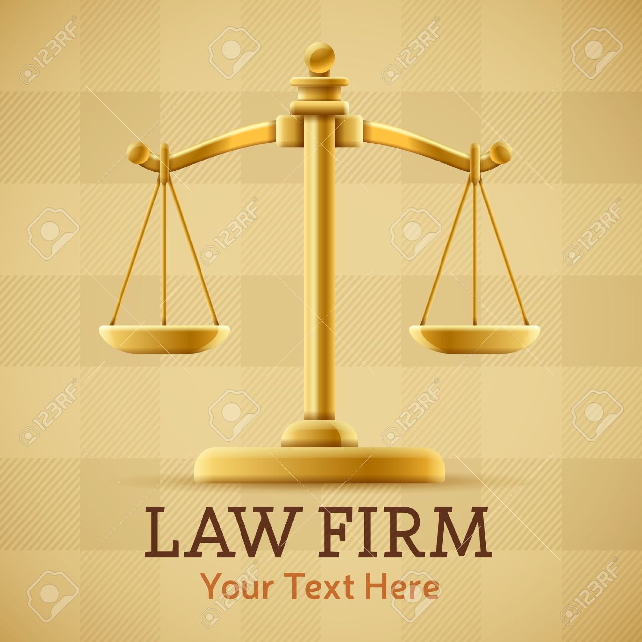 Law firm justice scale background concept with space for text - 24908070