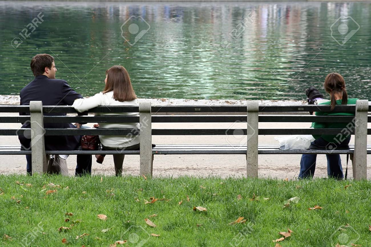 Park Bench At Central Park Stock Photo Picture And Royalty Free
