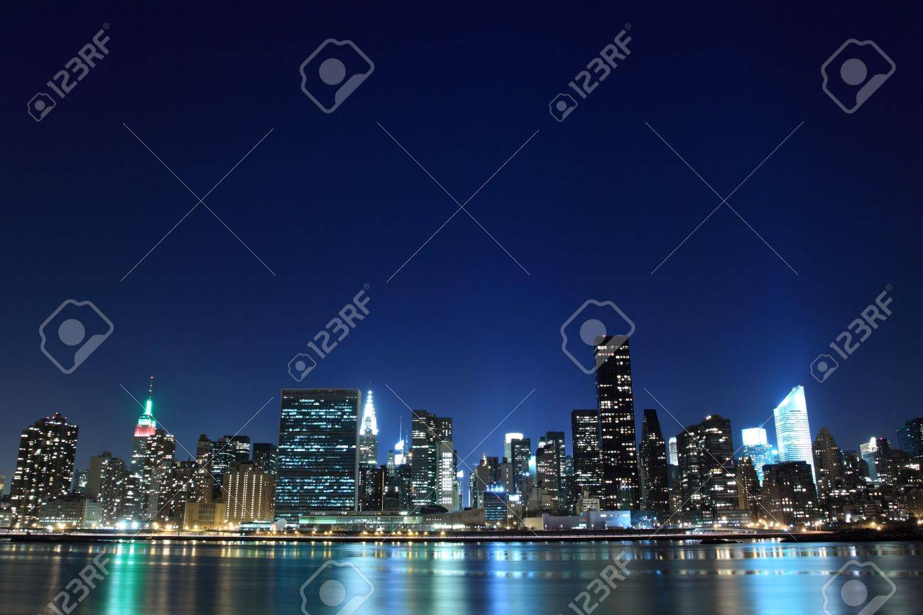 The Empire State Building and New York City skyline Stock Photo - 6270703