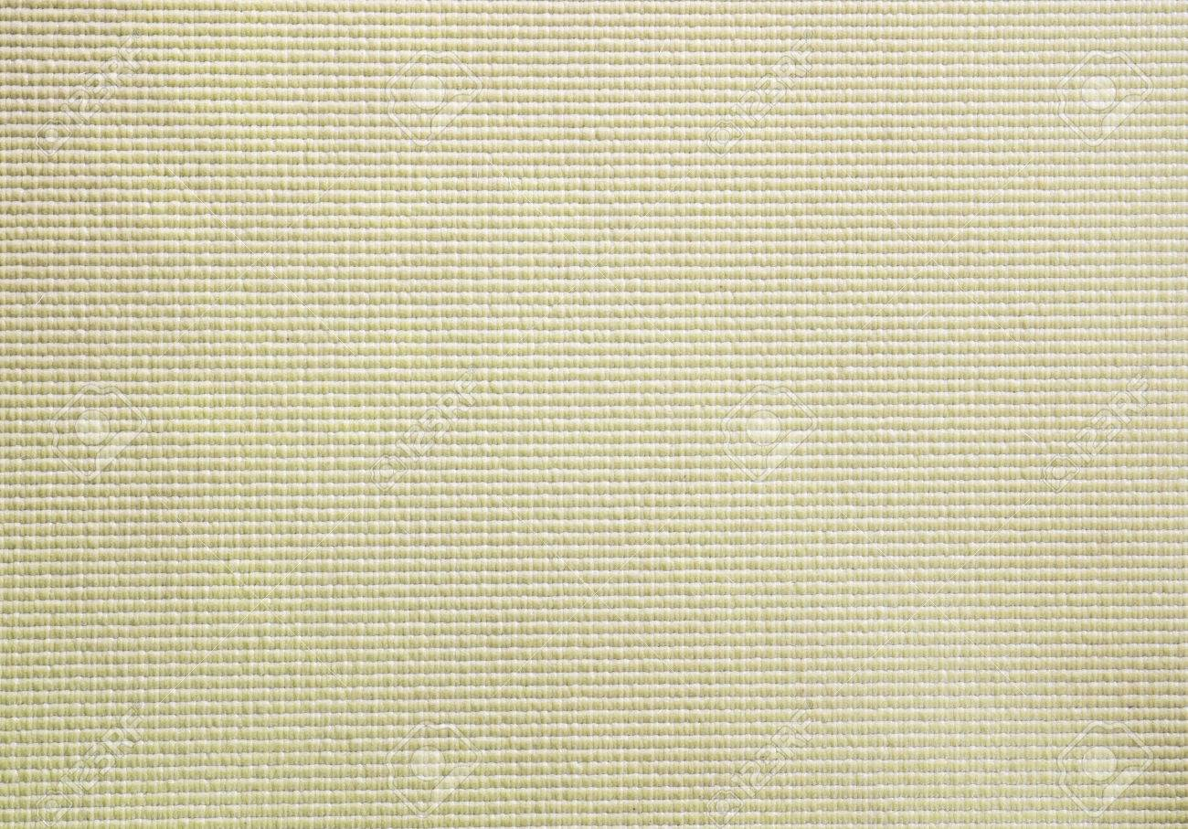 Light Brown Color Yoga Mat Texture Background Stock Photo