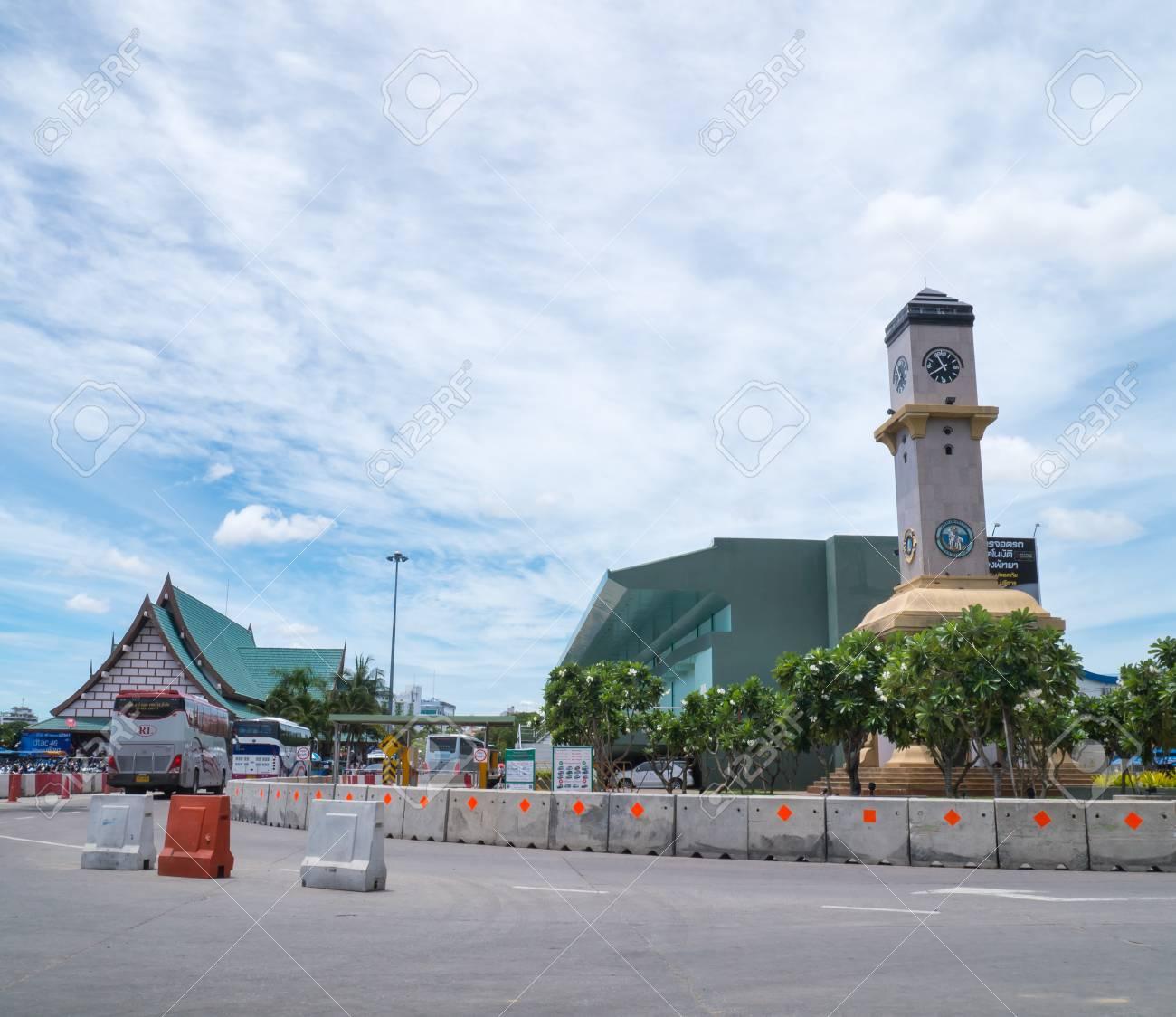 Where Is Bali Hai Island pattaya ,thailand - june 20 : bali hai pier ferry terminal. bali..