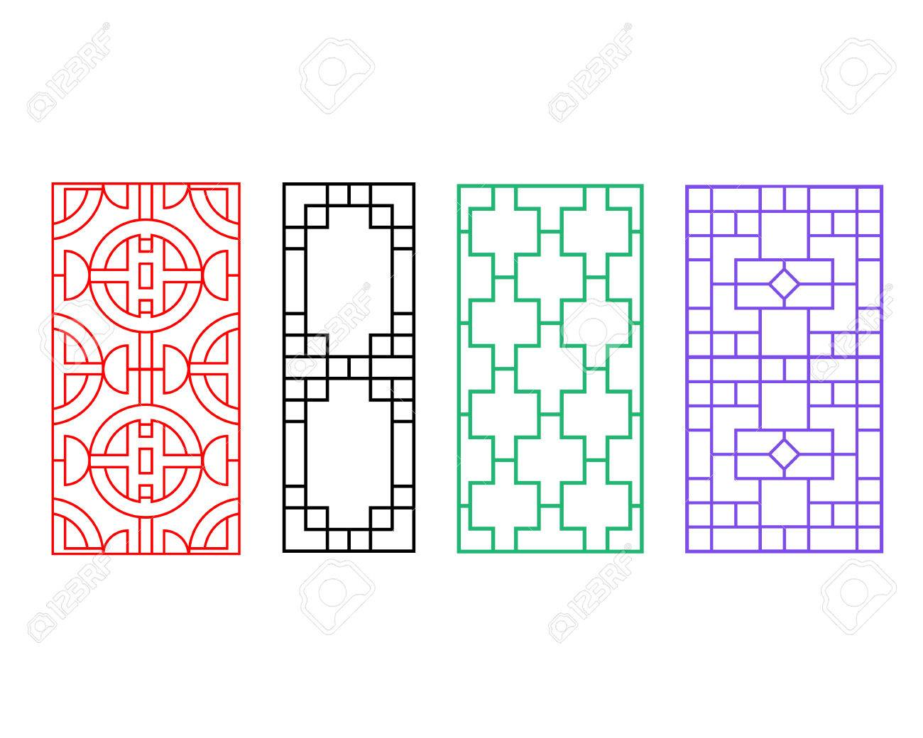 Chinese Fence Design Chinese ornament for door window wall and fence vector royalty chinese ornament for door window wall and fence vector stock vector 69257773 workwithnaturefo