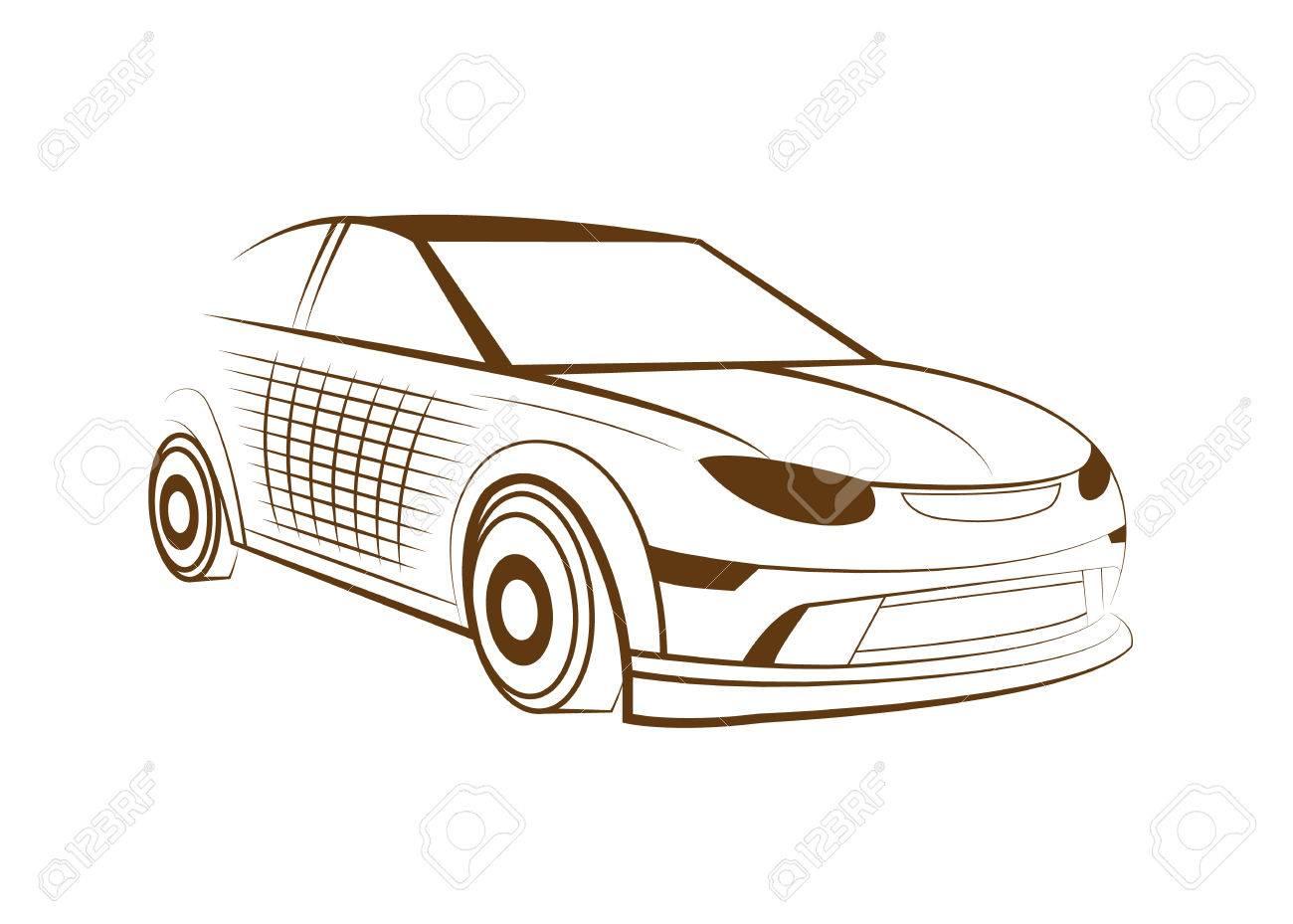 car logo vector illustration royalty free cliparts vectors and