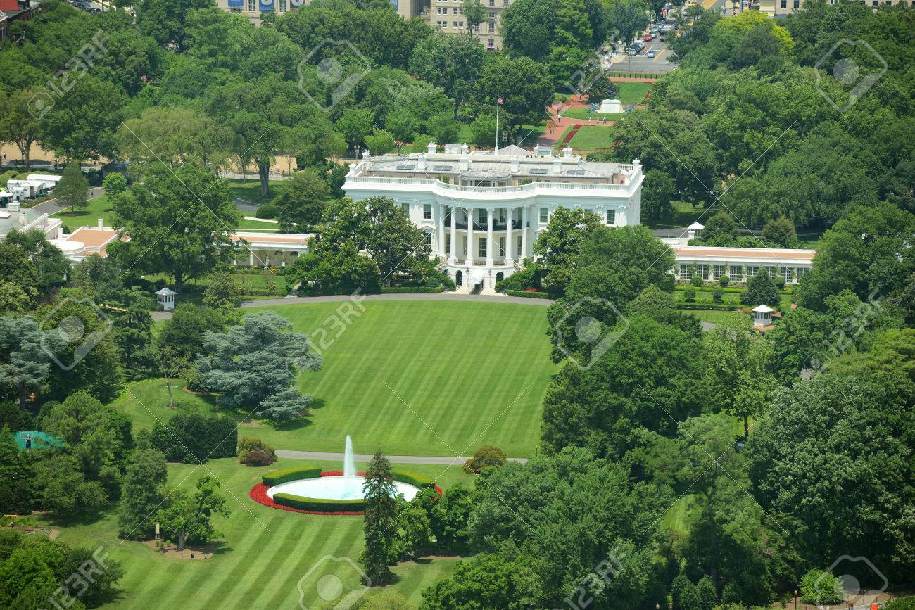 Pleasing White House Aerial View From The Top Of Washington Monument Download Free Architecture Designs Scobabritishbridgeorg