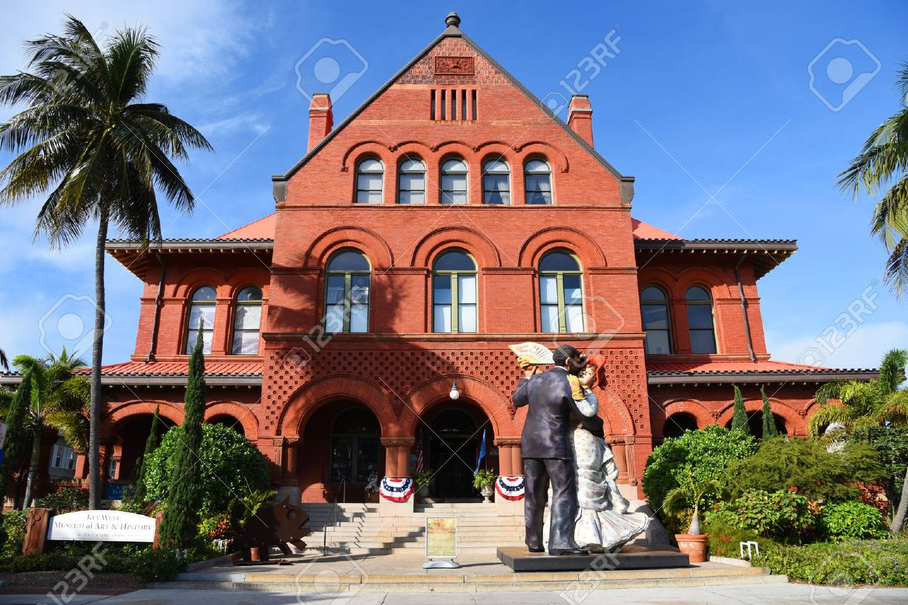 Old Post Office And Custom House Currently As Key West Museum Stock Photo Picture And Royalty Free Image Image 38661160