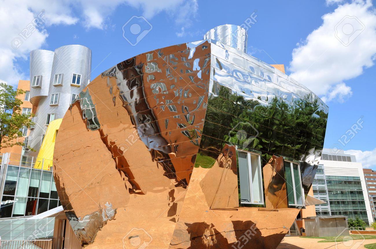 Modern Architecture Usa mit modern architecture the stata center designedfrank gehry