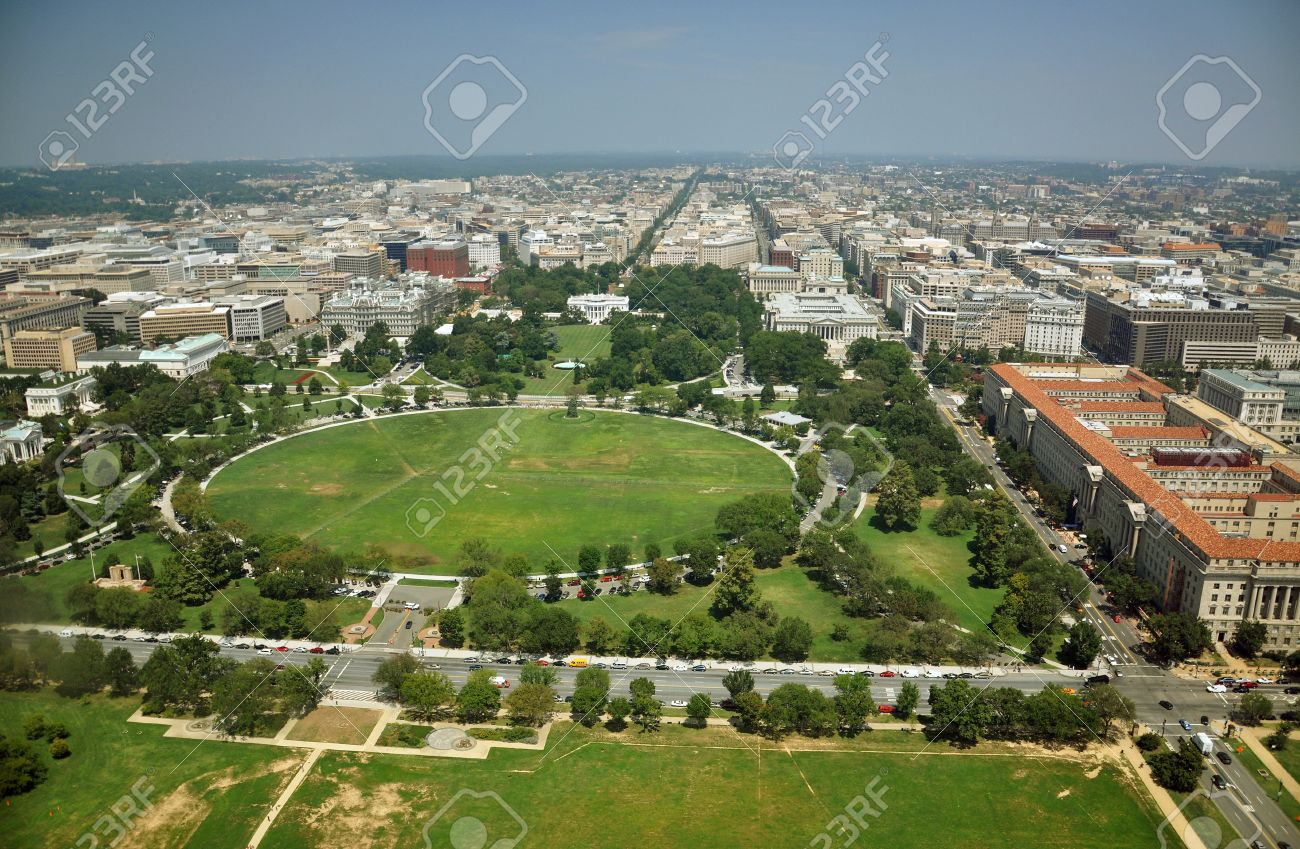 Surprising White House Aerial View From The Top Of Washington Monument Download Free Architecture Designs Scobabritishbridgeorg