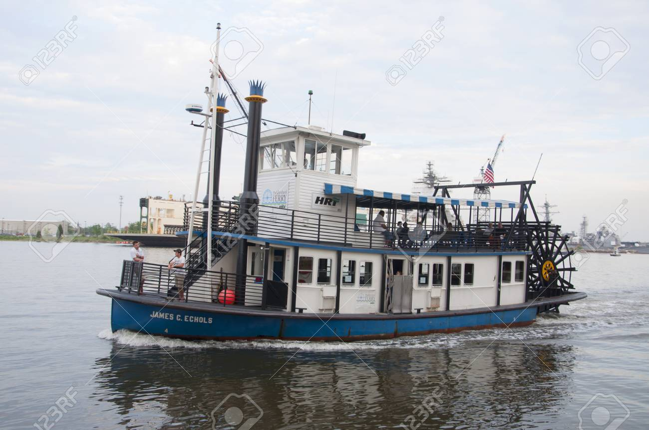steamboat operated by hampton roads transit hrt connects downtown stock photo picture and royalty free image image 116653928 123rf com