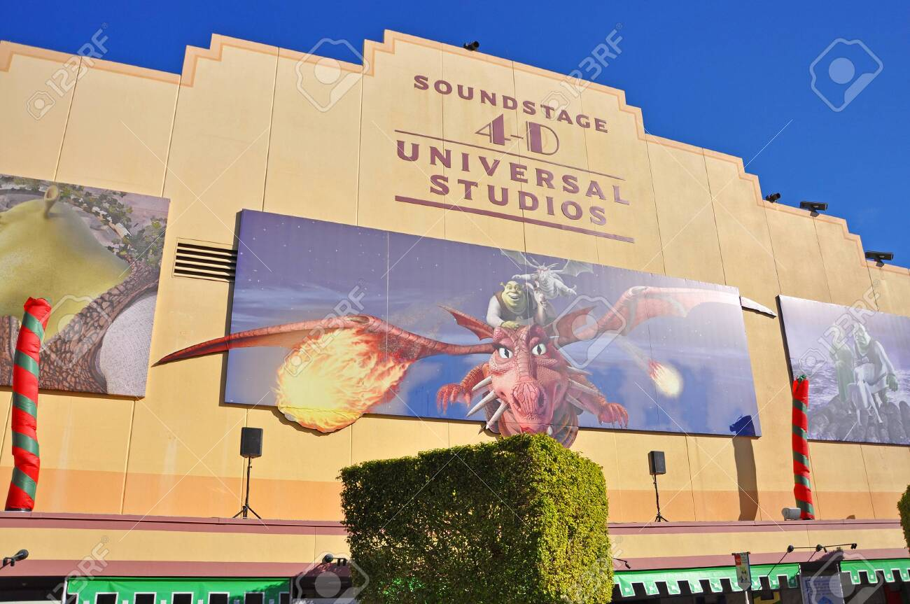 Shrek 4 D Film In Universal Studios Florida Orlando Florida Stock Photo Picture And Royalty Free Image Image 139613061