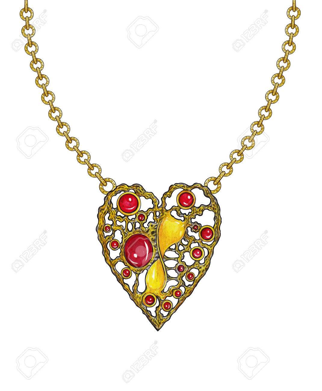 Jewelry design heart art pendanthand drawing and painting on jewelry design heart art pendanthand drawing and painting on paper mozeypictures Choice Image