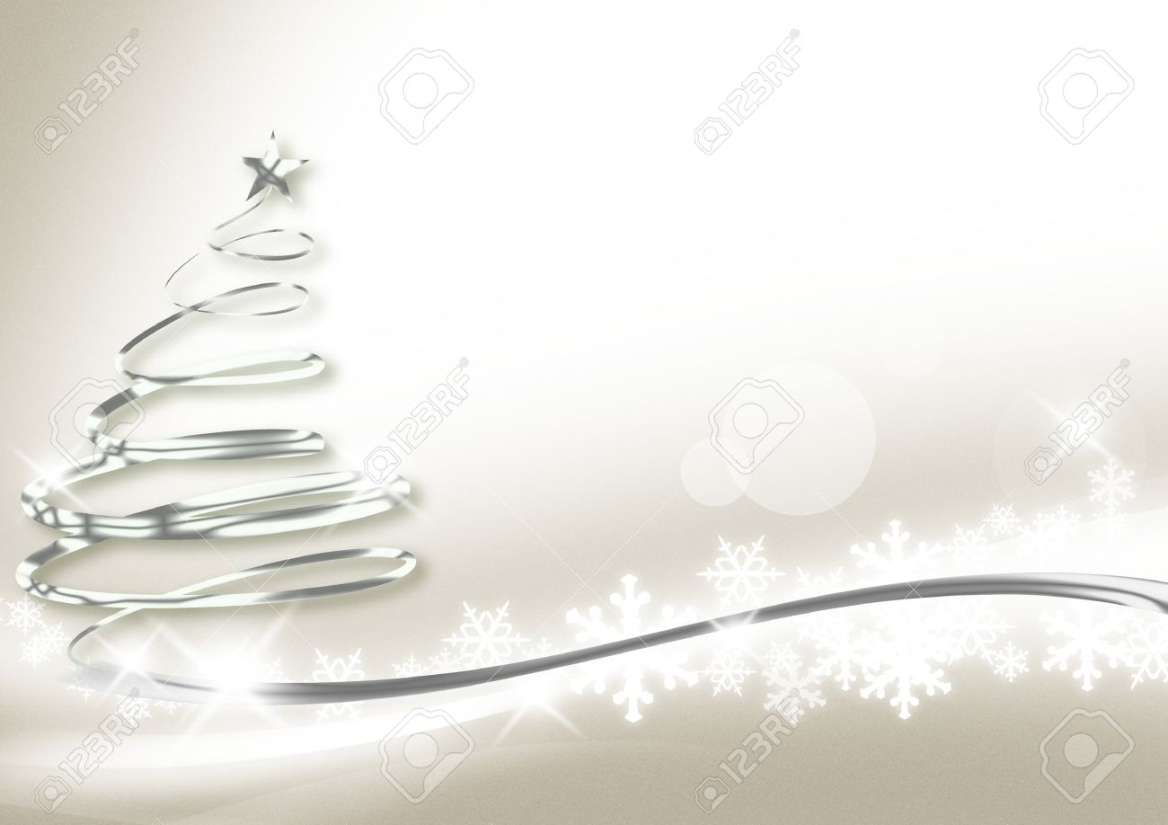 silver christmas new year background stock photo 11177999
