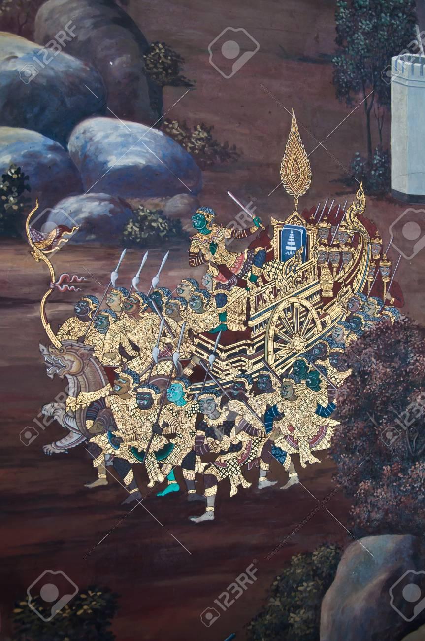 mural in temple thai Stock Photo - 10964077