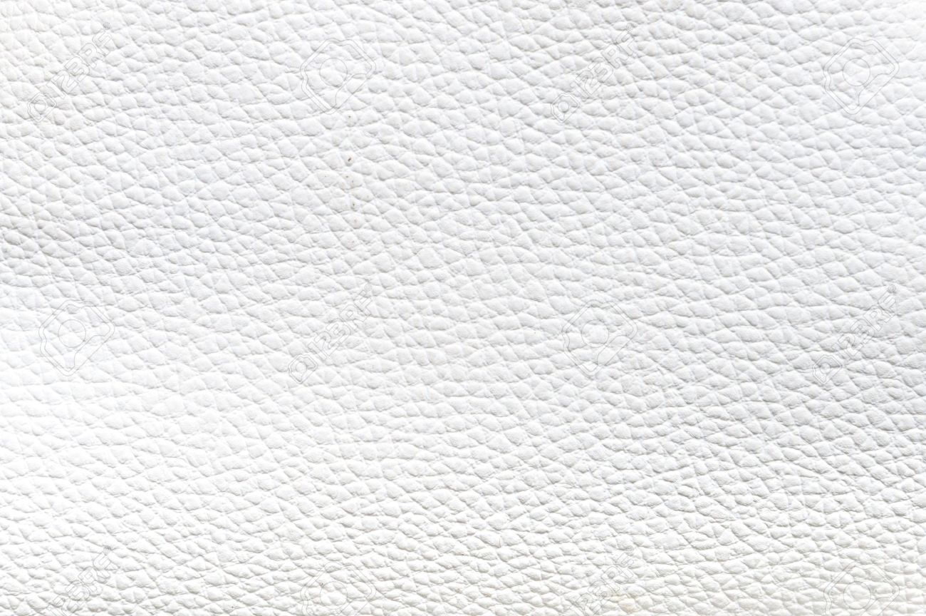 Close Up Of White Leather Texture Stock Photo, Picture And Royalty ... for White Leather Texture Hd  55jwn