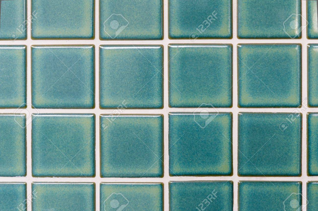 Local Style Thai Green Ceramic Tiles Stock Photo, Picture And ...