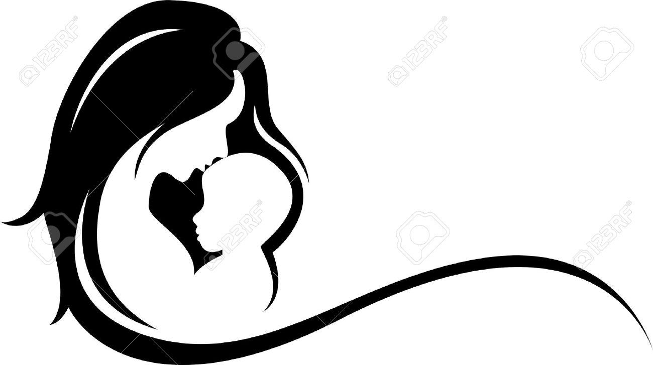 Resultado de imagem para mãe silhueta