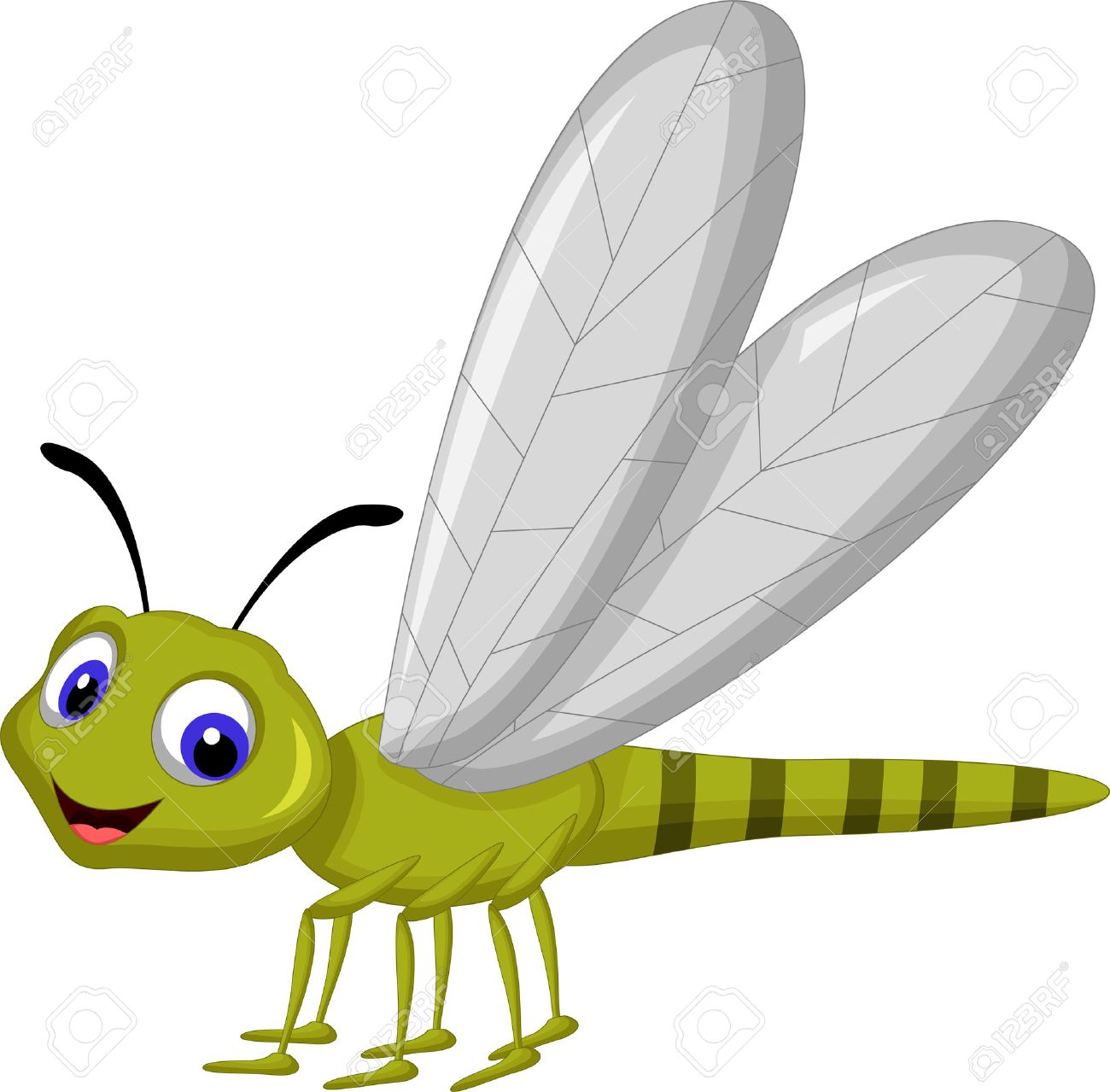 dragonfly cartoon royalty free cliparts vectors and stock