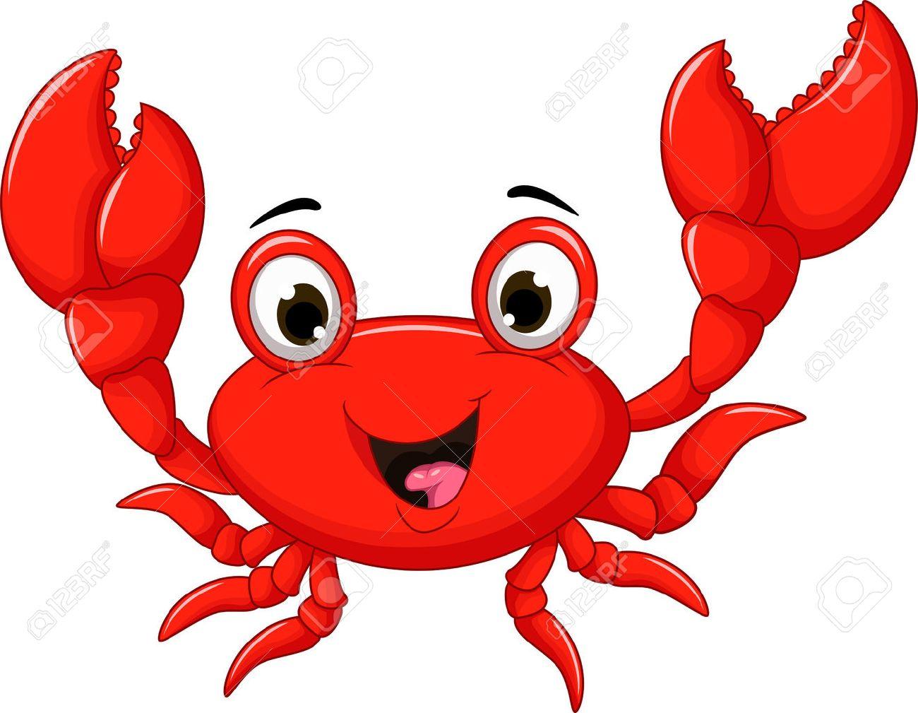funny crab cartoon - 39096109