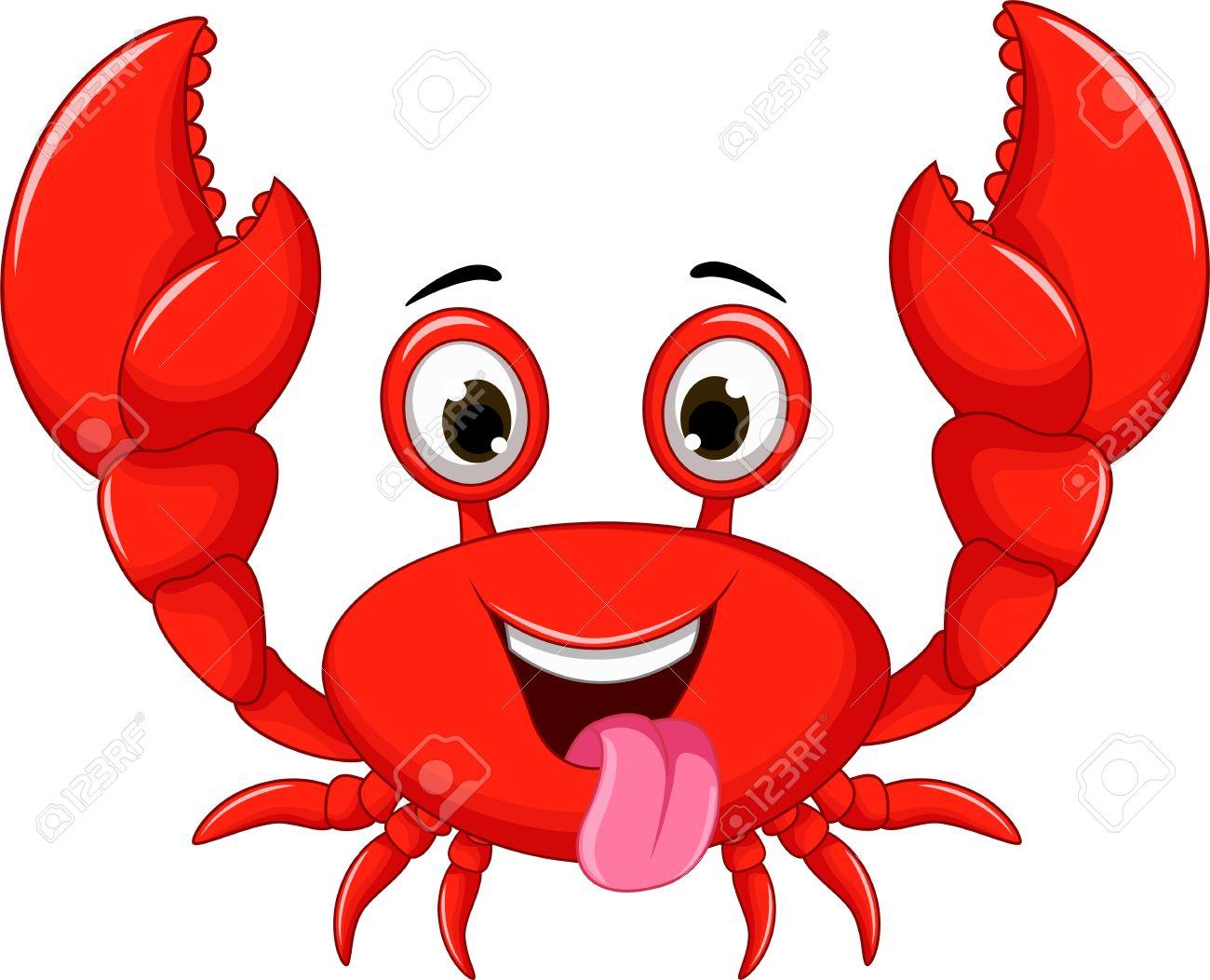 funny crab cartoon royalty free cliparts vectors and stock rh 123rf com Cartoon Fish hermit crab cartoon pictures